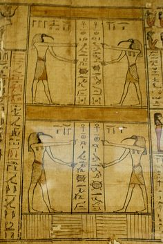 Book of the Dead of Tarnudj ,Ptolemaic Period.