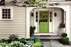 Greenery door