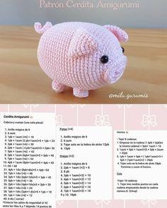 Octopus Crochet Pattern, Crochet Teddy Bear Pattern, Crochet Animal Patterns, Crochet Patterns Amigurumi, Crochet Animals, Crochet Dolls, Love Crochet, Crochet Baby, Crochet Crafts