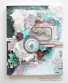 """Nadia Cannizzo as Just My Scrapping World for 7 Dots Studio using the """"Hopefully"""" collection; August 2013"""