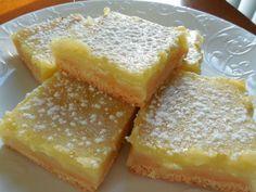 Lightened up lemon squares   Drizzle Me Skinny!   Bloglovin'