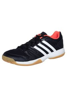 VOLLEY LIGRA - Zapatillas de voleibol - black/running white/infrared