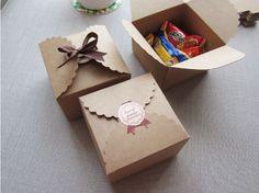 Aliexpress.com: Comprar 9 * 9 * 6 cm de color marrón torta hechos a mano embalaje del regalo del caramelo cajas de papel de almacenamiento caja de cartón 3 unids/lote ( sin decoración ) 19040001 ( 9 * 9 * 6D3 ) de caja de la cámara fiable proveedores en Lucia Craft store