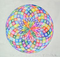 Age 12 ~ Geometric Drawing ~ 24 Division of Circle