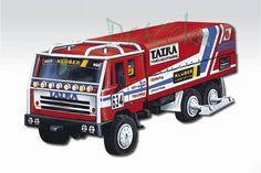 Stavebnice Monti MS 10  Rallye Dakar