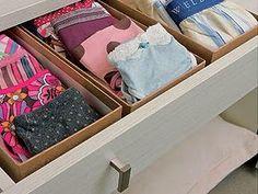 Organize sem Frescuras | Rafaela Oliveira » Arquivos » Faça você mesmo- produtos organizadores de gavetas