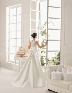 Argentina by 2015 AIRE Barcelona Exclusively at La Mariée Budapest bridal Budapest, Bridal Dresses, Wedding Gowns, Bridal Collection, Evening Gowns, Hair Makeup, Celebrities, Outfits, Fashion