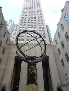 Atlas at the International Building 1 by Nina Kindred Ill Fly Away, 30 Rock, New England, Places Ive Been, New York City, Fair Grounds, Photography, Travel, Restaurants