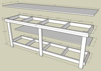Simple plans for a work bench.......D.
