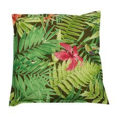 Ein ganz besonderes Sitzkissen: Blätter, Pflanzen und Blüten holen den Urwald ein Stückchen näher!