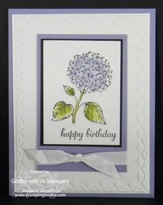 Stampin' Up! Best of Flowers Stamp Set