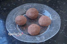 Dieta Dukan: Receita Trufas de Chocolate