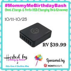 Omni 6 Port USB Charging Hub Giveaway