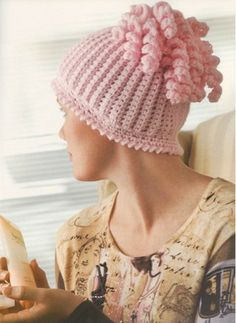 "Check out the 35 designs from the ""Think Pink: Crochet for the Cure"" collection."