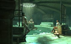 Dishonored. Golden Cat club - House of Pleasure.