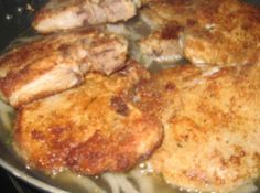 Mom's Tender and Juicy Pork Chops #chops #Mom's #justapinchrecipes Pork Chop Recipes, Meat Recipes, Chicken Recipes, Cooking Recipes, Dinner Recipes, Game Recipes, Recipies, Healthy Recipes, Juicy Pork Chops