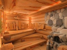 Of all the facilities you can use in a spa, the most popular one has to be a sauna. Diy Sauna, Sauna House, Sauna Room, Jacuzzi, Sauna Wellness, Sauna Design, Outdoor Sauna, Spa Interior, Interior Design