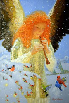 """""""Siren Song"""" by Victor Nizovtsev, Artist from Central Siberia ...."""