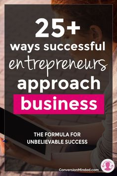 Ready to build the business you always dreamed of, but not sure how to do it? This post is for you! It includes 25+ mindset shifts that successful entrepreneurs make to help you reach your goals quickly and easily (plus have loads of fun in the process). Click through to learn each one!
