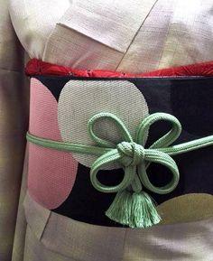 20170222_1 Pet Jellyfish, Blue Jellyfish, Crocheted Jellyfish, Modern Kimono, Japan Outfit, Obi Belt, Kimono Dress, Japanese Design, Yukata