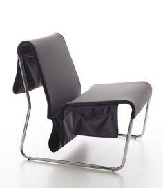 Danese Farallon Lounge Chair Design By Yves Behar