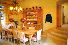 Vail, CO Residence, Dining room. House architecture, wooden interiors.