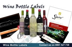 Wine Bottle Labels - Asset Print, Cape Town.  www.assetprint.co.za