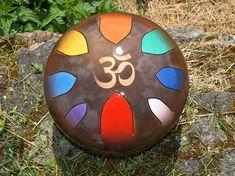 AM Drum Chakra - tambour pour les Chakras - instrument melodique en acier - pour guérir et éveiller les chakras - frequencie 432hz