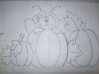 Ladybug risk among pumpkins
