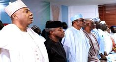 APC Govs have just told you that president will run in 2019 APC Governors are backing Buhari for re-election in President Muhammadu. Apc, News Online, Sports And Politics, Presidents, Bring It On, Education, Crib, Crib Bedding, Baby Crib