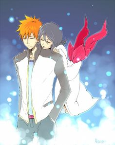 Right here with you #bleach #ichiruki