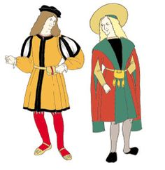 RC615 - Early Tudor (1500-1520s) Man's Gown & Jerkin Pattern on Etsy, $29.95. Jerkin pattern only for commoners.
