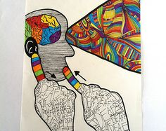 Deaf Art Print - Deaf Artist's Strength