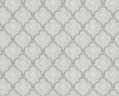 Kashmira  Dove/Silver wallpaper by Baker Lifestyle