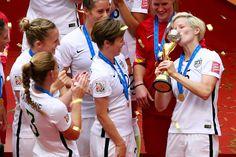 World champions. (Jeff Vinnick/Getty Images North America)
