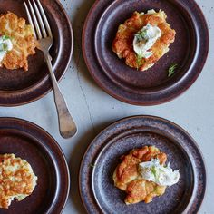 Norwegian Fish Cakes with Dill Mayonnaise | Baking powder is the secret to the airy texture of these crispy, fluffy fish cakes.