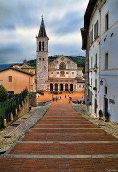 Spoleto Cathedral by Stefano Landenna on 500px ♠