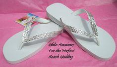 Calling All Brides  Genuine Swarovski Crystal Havaianas Flip Flops  by ShadesOfBling, $89.95