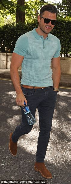Mark Wright reveals 2 stone weight loss as he prepares to marry Michelle Keegan | Daily Mail Online