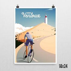 'Mont Ventoux' Print