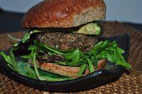 Home-made, #Healthy Mushroom and Lentil Veggie Burger #Recipe