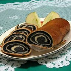 Makes 2 rolls: Crust * 1 package active dry yeast * 2 cups warm mil. Makes 2 rolls: Crust * 1 pack Slovak Recipes, Czech Recipes, Ukrainian Recipes, Hungarian Recipes, Russian Recipes, Ethnic Recipes, Poppy Seed Recipes, Eastern European Recipes, Polish Recipes