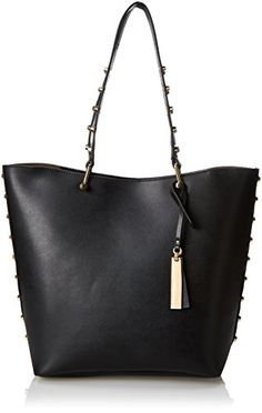 Women's Shoulder Bags - Vince Camuto Evie Travel Tote BlackBlack One Size ** For more information, visit image link.