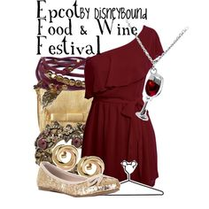 Food & wine inspired outfit! This would be great for our special diets dessert party! http://gfdfwdw.eventbrite.com/