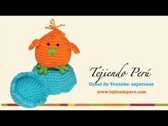 Pollitos tejidos en crochet (amigurumi) Parte 2