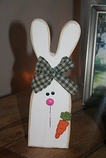 how cute, and all from a 2x4!  from Wood Creations and Kerrie's Krafts