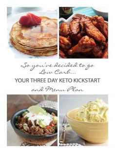 Free 3 Day Keto Kickstart and Menu Plan from ibreatheimhungry.com