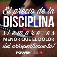 Ten disciplina en tu entrenamiento @powerclubpanama #YoEntrenoEnPowerClub , Y Tu ? Cuantas Calorias Quemaste Hoy ?