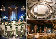 This #Wedding at the Union League Club of Chicago showcased the refined elegant look the couple had in mind. From high drapery to a custom dance floor, this was one beautiful celebration! Photos by #averyhouse