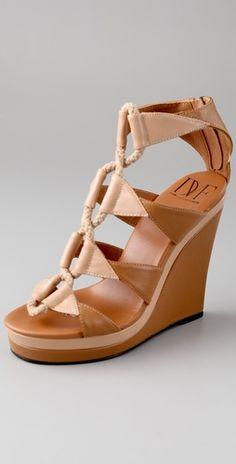 076f2c237614b4 Diane von Furstenberg Theia Platform Wedge Sandals
